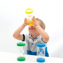 TickiT ClearView 3-Minute Magnifying Sand Timer